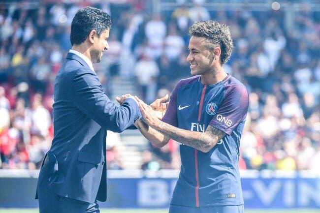 PSG: Al-Khelaïfi a peur de froisser Neymar, il change d'avis