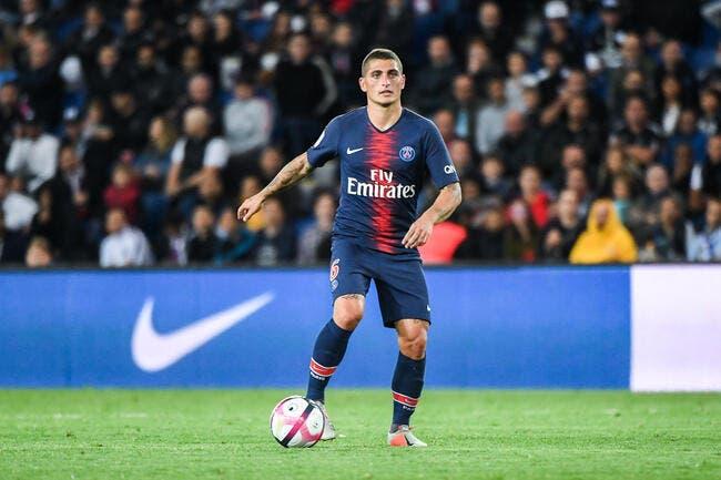 Marco Verratti ne songe pas à s'en aller — PSG