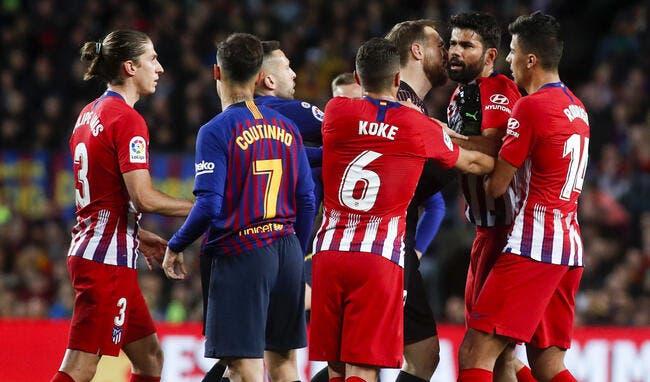 Esp : L'Atlético craque en fin de match face au Barça