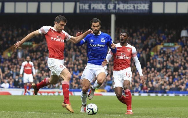 PL : Everton créé la surprise et s'offre Arsenal
