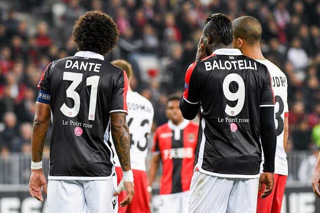 OGCN : Balotelli est ingérable, Dante raconte son calvaire