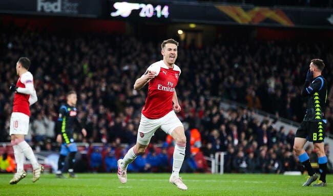 EL : Arsenal étrille Naples, Chelsea et Valence assurent