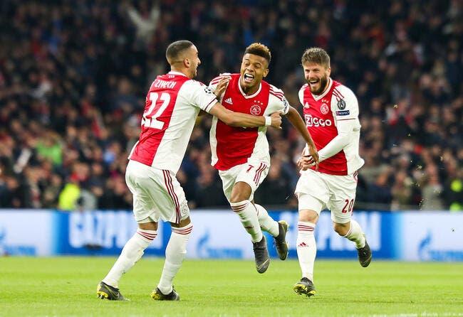 PSG: Paris a deux cibles à l'Ajax, mais ne le dit pas trop