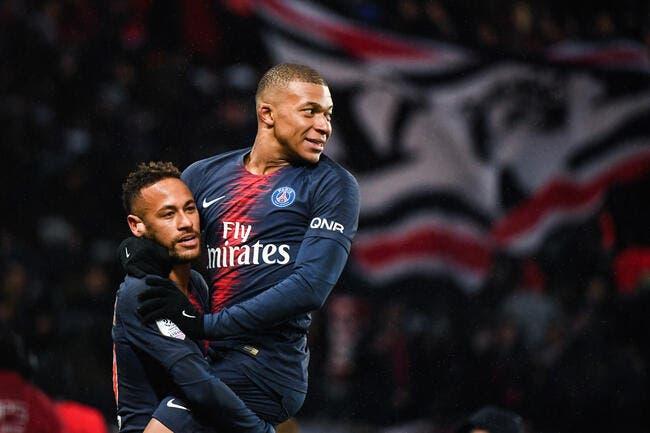 PSG : Mbappé est énorme, et Neymar n'est pas jaloux