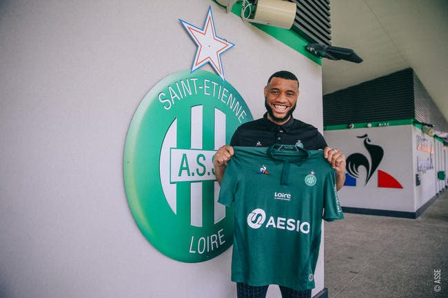 Harold Moukoudi débarque à l'AS Saint-Etienne — Officiel