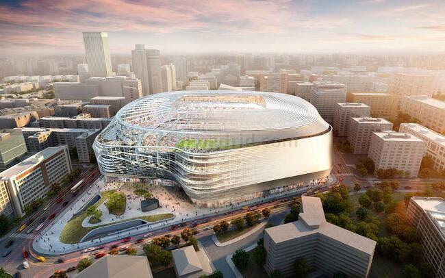Esp : Le Real Madrid s'est fait prêter 575ME pour son nouveau stade !