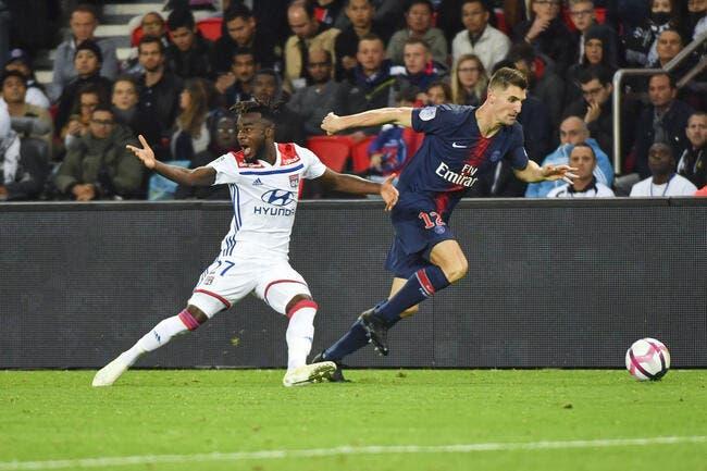 OL : Lyon prend un gros tacle par derrière venu du PSG