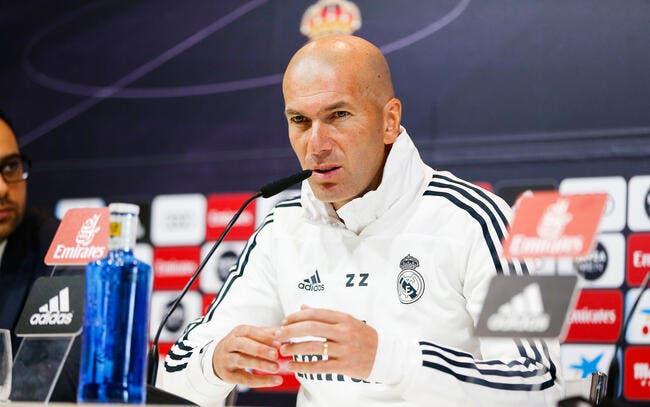 LdC : Zidane n'aime pas la réforme, il veut des petits clubs en C1