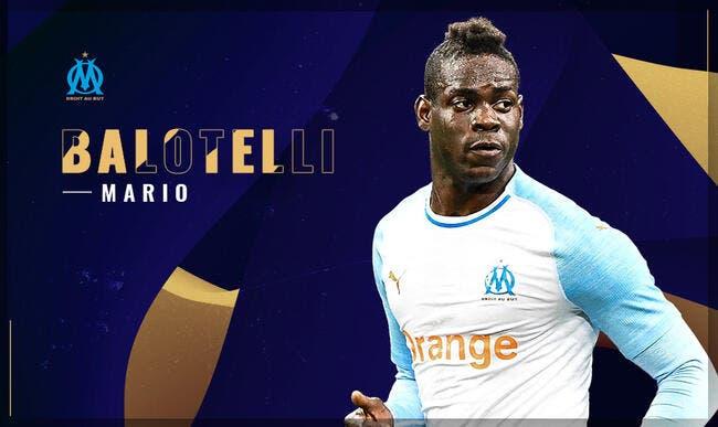 Balotelli élu joueur du mois — OM