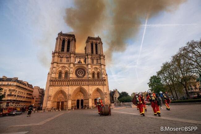 LFP : Le foot français va aider à la reconstruction de Notre-Dame de Paris