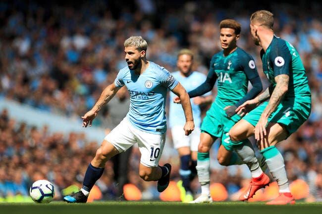 Ang : Man City retrouve le sourire grâce à Tottenham