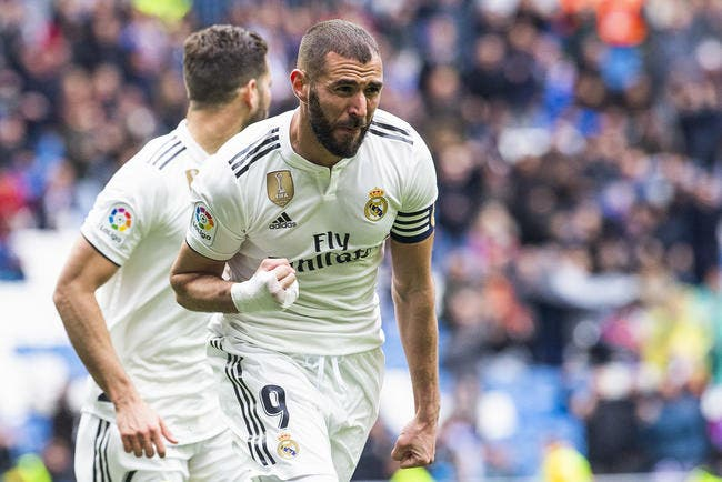 Esp : Un Karim Benzema de gala guide le Real Madrid