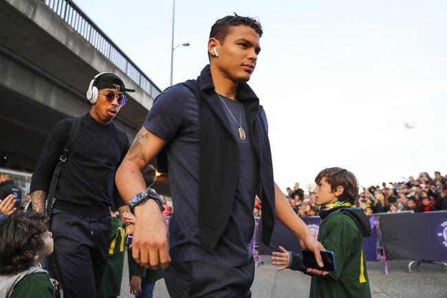 La famille de Thiago Silva agressée — PSG