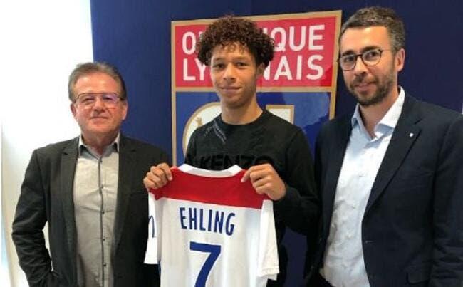 Officiel : Thibaut Ehling signe son premier contrat stagiaire à l'OL