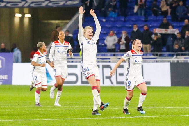 D1 féminine : L'OL titré champion de France pour la treizième fois !
