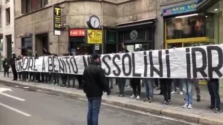 Ita : Mussolini, chants racistes pour Bakayoko... Le Milan-Lazio tourne mal