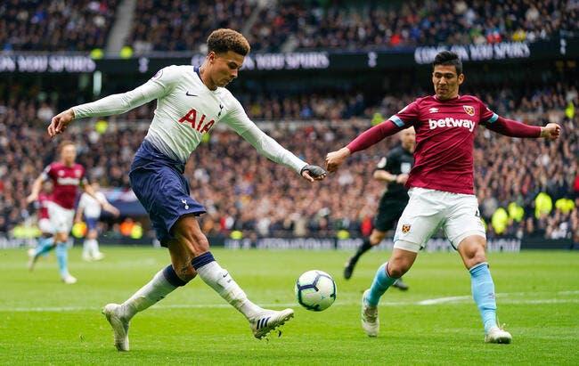 PL : Tottenham battu par West Ham, ça fait doublement mal