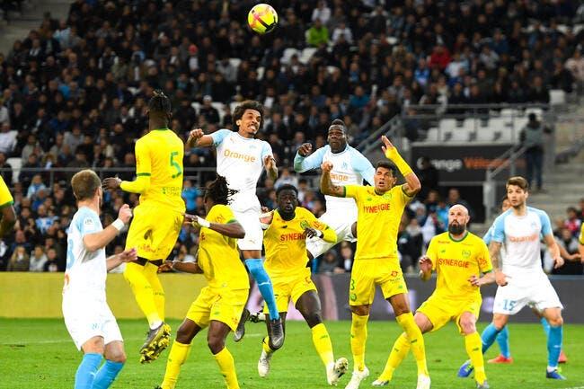 L1 : L'OM sombre contre Nantes, la Coupe d'Europe s'éloigne !