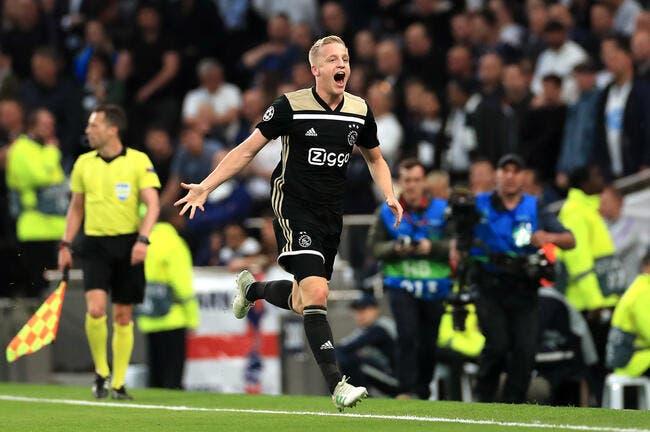 LdC: L'Ajax brille toujours, la finale est proche