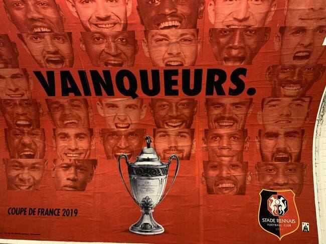 Photo : Le Stade Rennais trolle le PSG dans le métro, ça pique