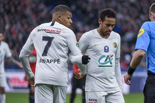 PSG : Kylian Mbappé copie Neymar, un champion du monde hurle