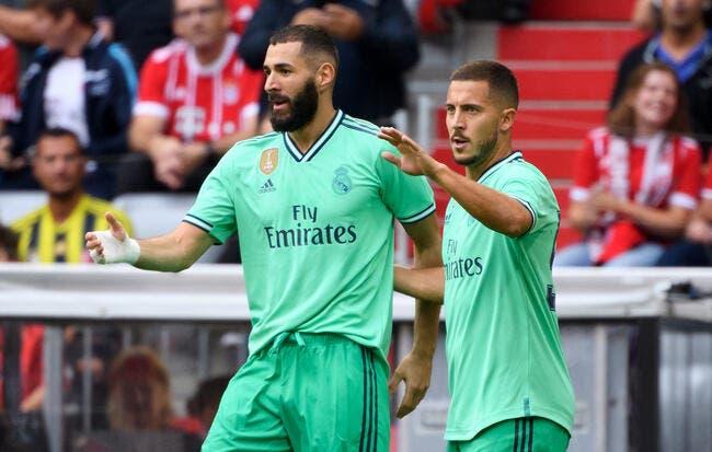 Esp: Ça taille le Real, Benzema répond avec une leçon de football