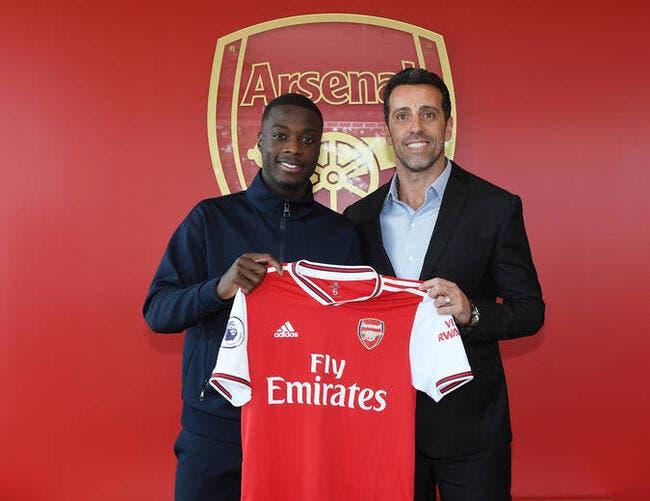 Officiel: Arsenal annonce Nicolas Pépé pour 80 ME