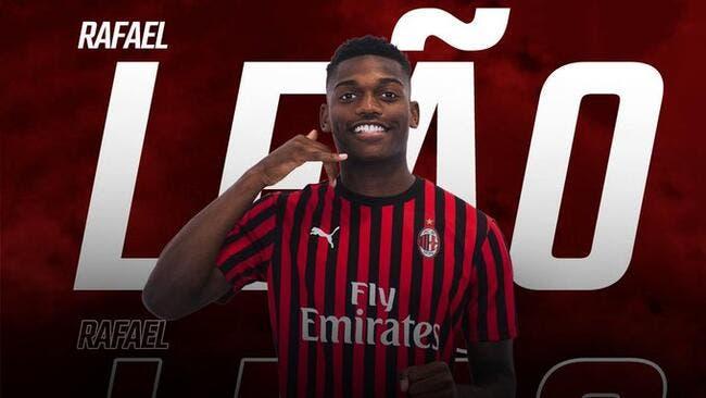 Officiel: Le Milan AC accueille l'ex-Lillois Rafael Leao