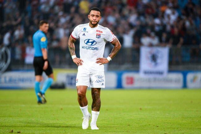 OL: Aucune tactique en Premier League, Depay préfère la Ligue 1