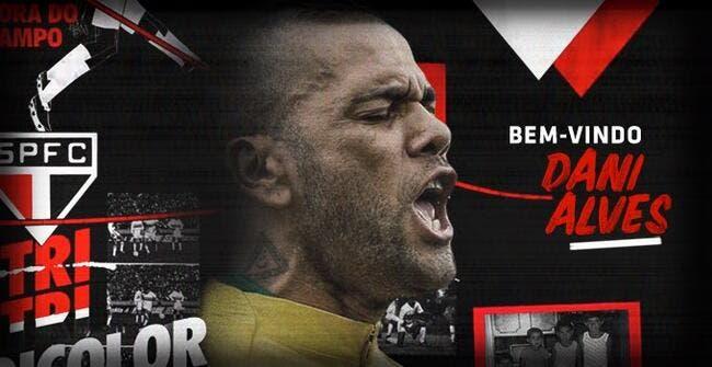 [Ancien] Daniel Alves s'engage avec le FC Sao Paulo jusqu'en décembre 2022