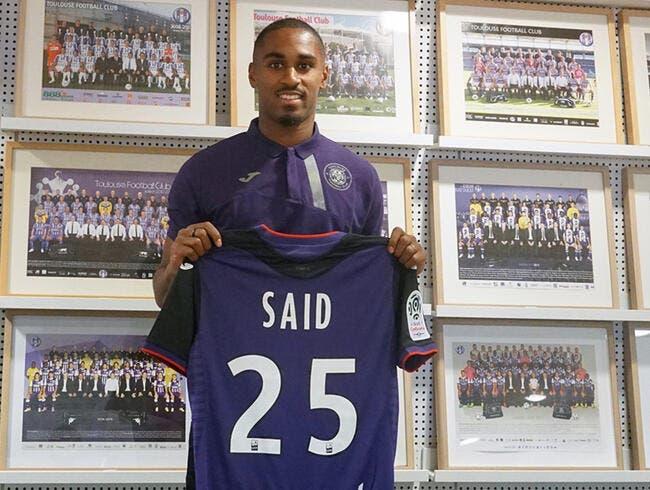 Mercato : Wesley Saïd quitte Dijon et signe à Toulouse