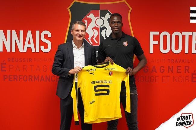 Officiel : Edouard Mendy quitte Reims et signe à Rennes !