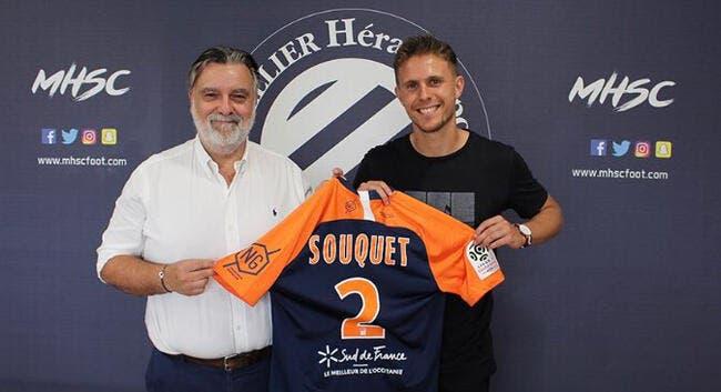 Officiel : Souquet signe à Montpellier et remplace Aguilar