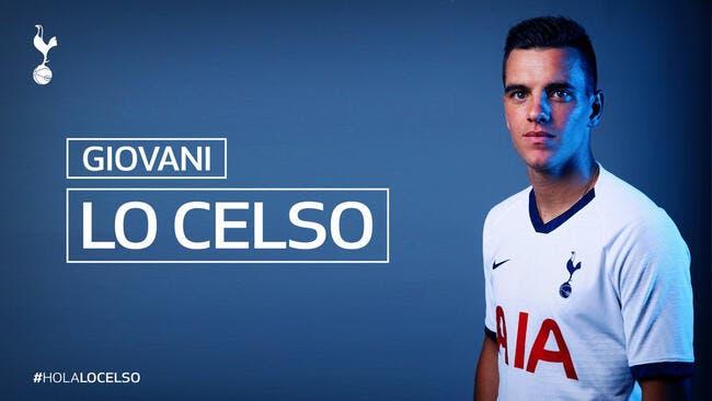 Officiel : Lo Celso prêté à Tottenham !