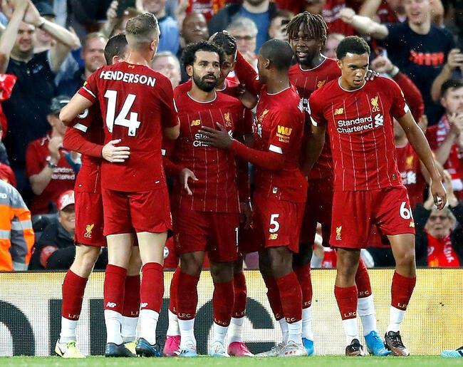 Ang : Liverpool débute en force