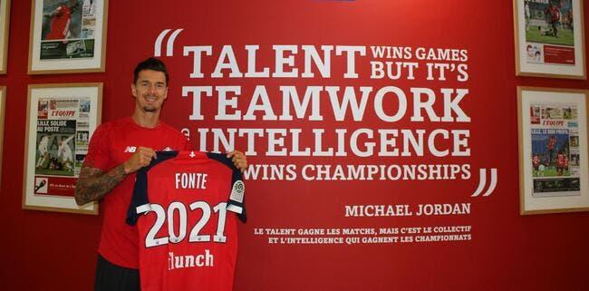 LOSC : José Fonte prolonge à Lille jusqu'en 2021