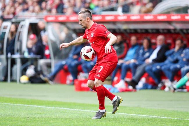 Mercato : Franck Ribéry en Série A, ça discute !