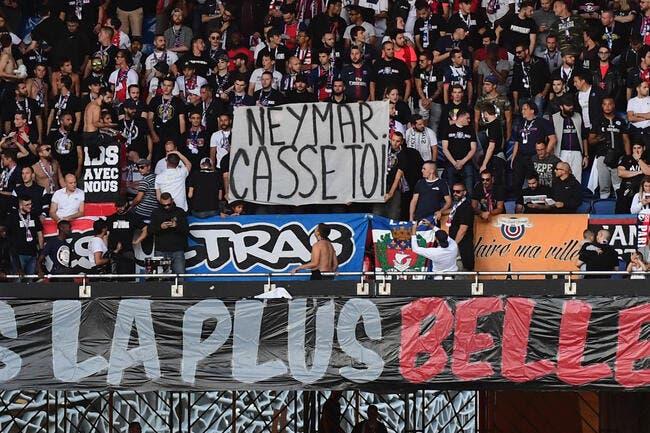 PSG : Neymar «fils de p....», les Ultras craquent !