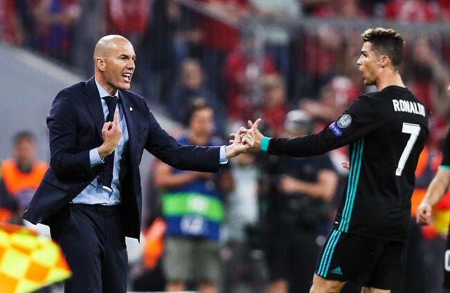 Esp : Zidane est formidable, Cristiano Ronaldo est in-love