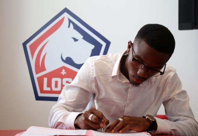 Officiel : Un jeune défenseur signe à Lille jusqu'en 2022