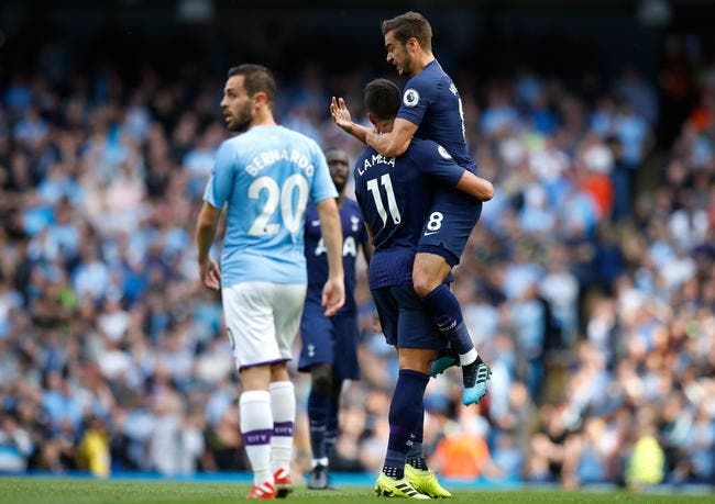 Ang : Tottenham accroche Manchester City