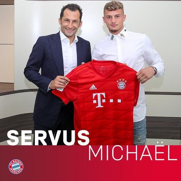 Officiel: Le Bayern Munich annonce Michaël Cuisance