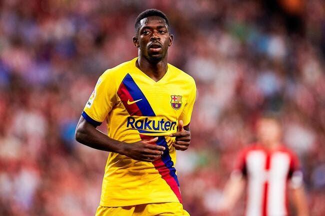 Esp : Ousmane Dembélé blessé et forfait 5 semaines !