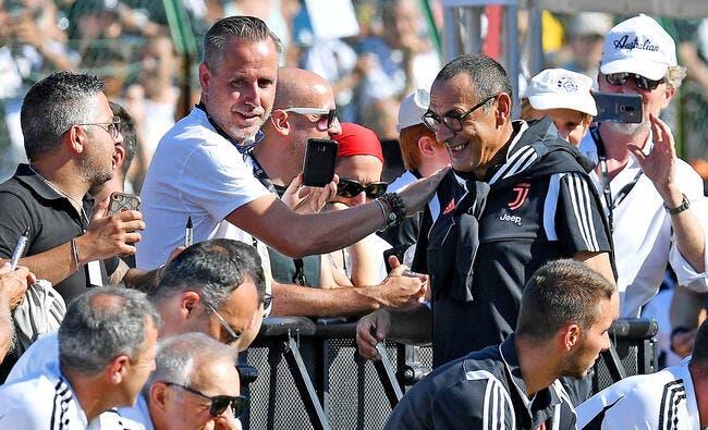 Ita : La Juventus annonce que Sarri souffre d'une pneumonie