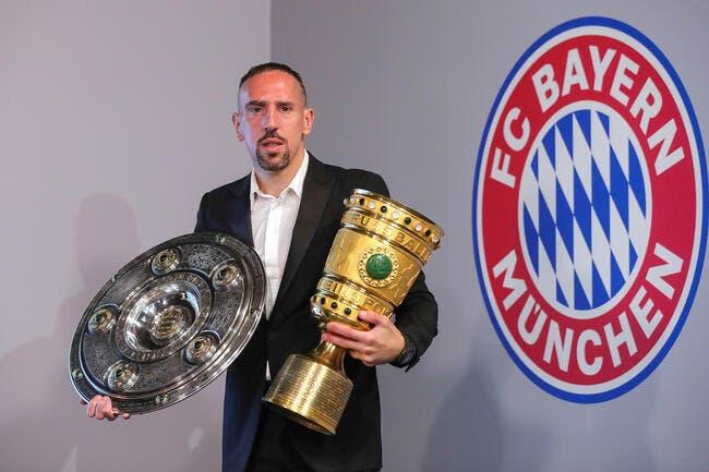 Mercato: Franck Ribéry à la Fiorentina, c'est bouclé