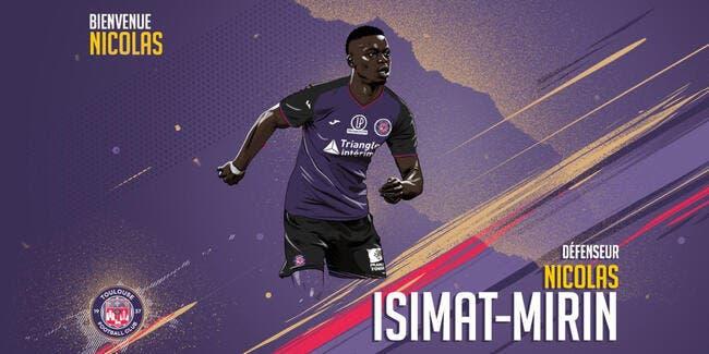 Mecato : Isimat-Mirin prêté au TFC