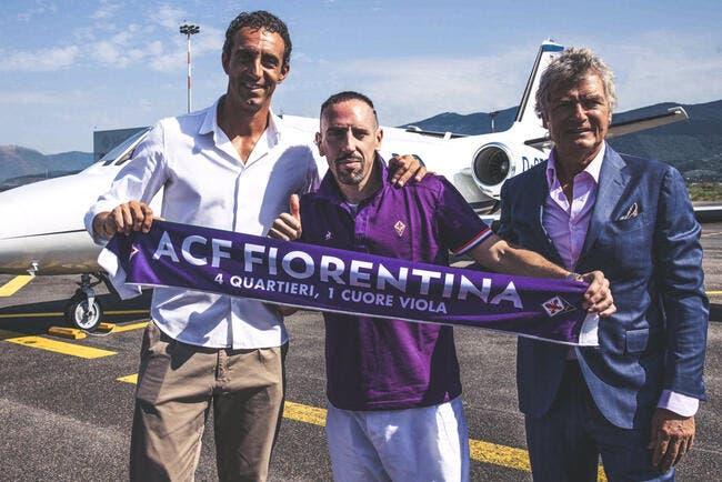 Mercato : Franck Ribéry débarque à la Fiorentina !