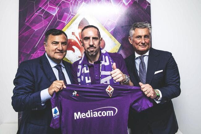 Officiel : Franck Ribéry signe à la Fiorentina