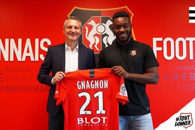 Officiel : Joris Gnagnon prêté au Stade Rennais