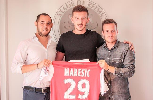 Officiel : Reims recrute le jeune Dario Maresic